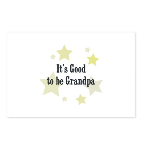 It's Good to be Grandpa Postcards (Package of 8)