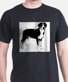 Greater Swiss Mountain Dog Ash Grey T-Shirt