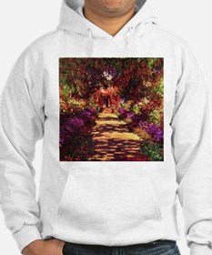 Garden Path by Claude Monet Sweatshirt