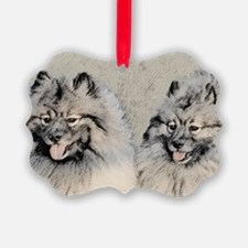Keeshonds Ornament