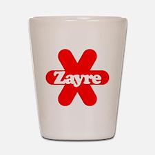 Zayre Shot Glass