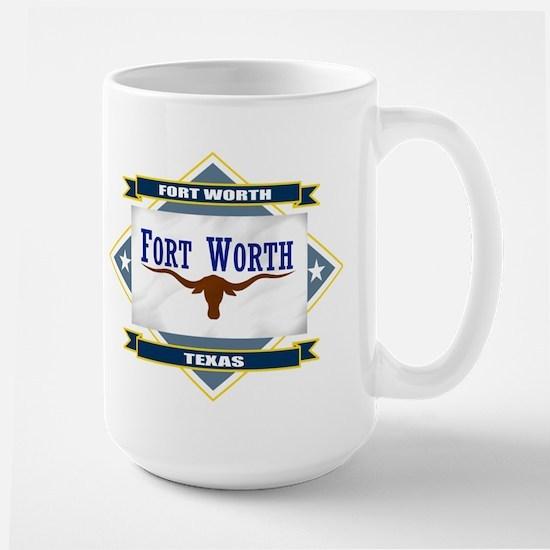 Fort Worth Flag Mugs
