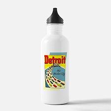 Detroit - The Motor Ci Water Bottle