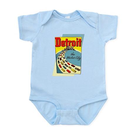 Detroit - The Motor City Infant Bodysuit