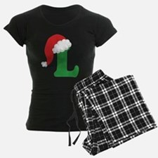 Christmas Letter L Alphabet Pajamas