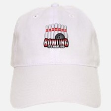 Bowling it's what I do Baseball Baseball Cap