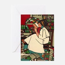 Cute Books Greeting Card