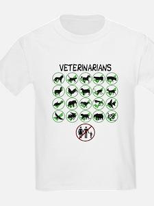 Not a Human Veterinarian T-Shirt