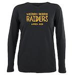 Western Reserve Raiders Plus Size Long Sleeve Tee