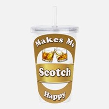 Scotch Happy Acrylic Double-wall Tumbler