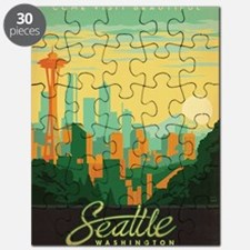 Cute Seattle washington Puzzle