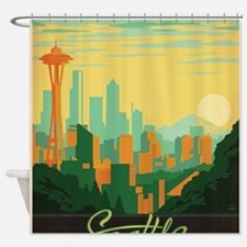 Cute Needles Shower Curtain