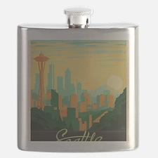 Unique Seattle Flask