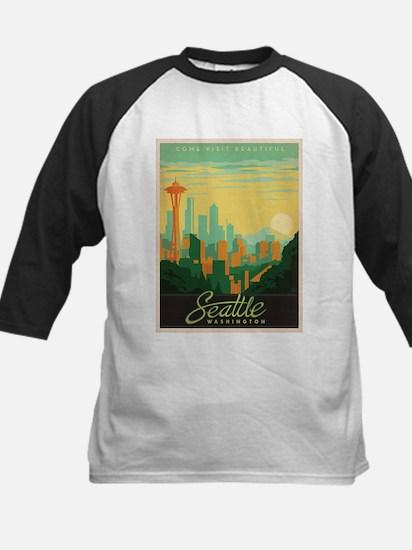 Vintage poster - Seattle Baseball Jersey