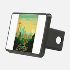 Vintage poster - Seattle Hitch Cover