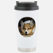 Unique Welsh corgi Travel Mug