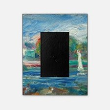 The Blue River by Auguste Renoir Picture Frame