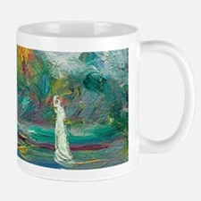 The Blue River by Auguste Renoir Mugs