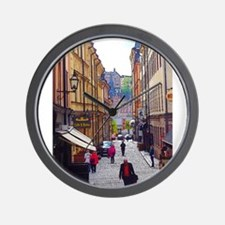 My Afternoon in Stockholm Wall Clock
