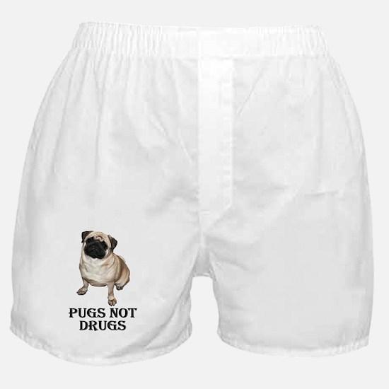 Cute Pets pugs Boxer Shorts