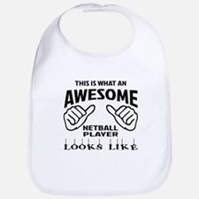 This is what an awesome Netball player Bib