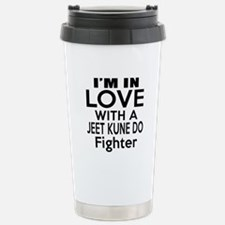 I Am In Love With Jeet Stainless Steel Travel Mug