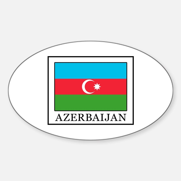 Cute Azerbaycan Sticker (Oval)