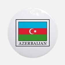 Azerbaijan Round Ornament