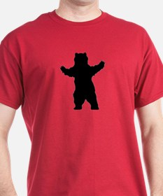 Growling Grizzly Bear T-Shirt