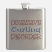 Obsessive Curling Disorder Flask