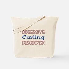 Obsessive Curling Disorder Tote Bag