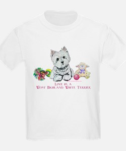 Westhighland Terrier Love T-Shirt