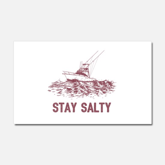 Stay Salty Car Magnet 20 x 12