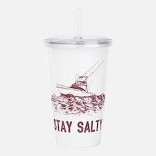 Stay Salty Acrylic Double-wall Tumbler