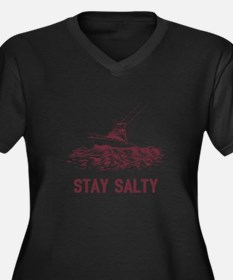 Stay Salty Plus Size T-Shirt