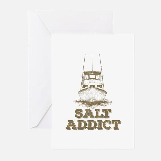 Salt Addict Greeting Cards