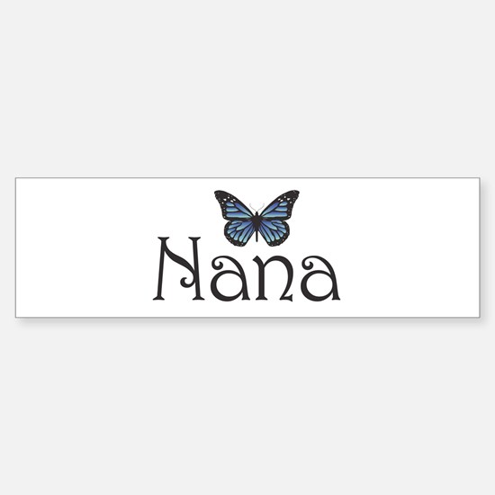 Nana Bumper Car Car Sticker