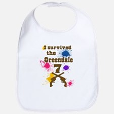 I survived the Greendale 7 Baby Bib