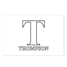 White T for Thompson Postcards (Package of 8)