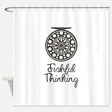 Fishful Thinking Shower Curtain