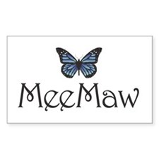 MeeMaw Rectangle Decal