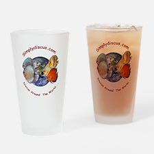 Simplydiscus_shirt_v1_cafepress.jpg Drinking Glass