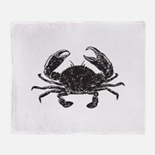 Crab Throw Blanket