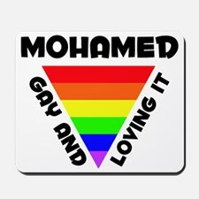 Mohamed Gay Pride (#006) Mousepad