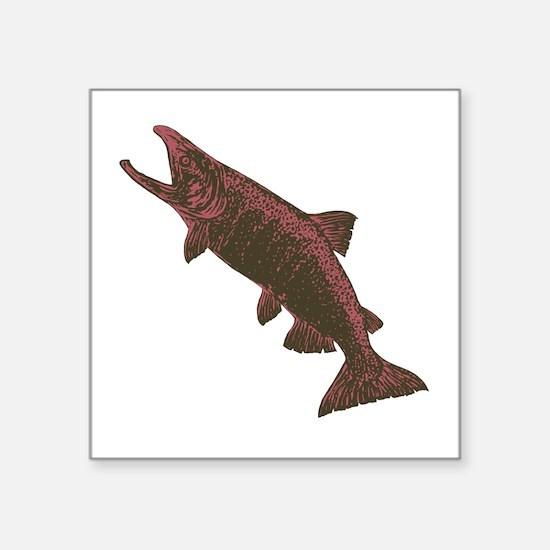 Coho Salmon Sticker
