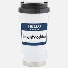 Cute Tagging nametag Travel Mug