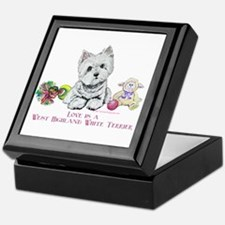 Westhighland Terrier Love Keepsake Box