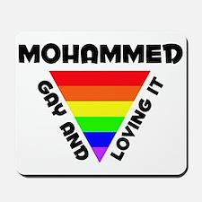 Mohammed Gay Pride (#006) Mousepad