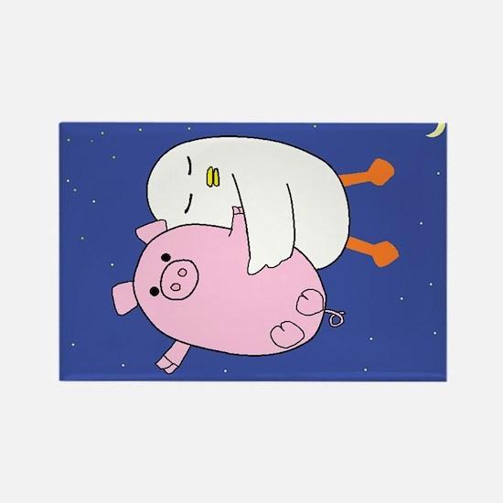 Yaya and Piggy Magnets