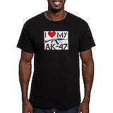 Ak 47 Fitted T-shirts (Dark)